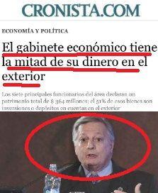 el blog de josé rubén sentís: el equipo económico de argentina que no confía en ...