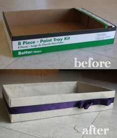 DIY Box Makeover