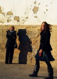Dear friends, let me introduce you to my beloved mother and sister, in one of my favorite pics of them, that I took last Christmas in Majorca (my hometown in Spain).    :-)    Nothing to feel happy like the love of those closest to you.
