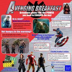 Avengers + Breakfast