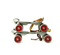 Vintage Hustler Roller Skates - (These are just like my first pair of roller skates in 1958!)