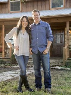 This is an amazing couple that remodels homes...would love to have them at my house! Joanna and Chip Gaines - on HGTV