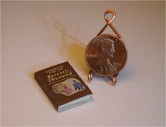 Beetlejuice Handbook for the Recently Deceased - Small - MINIATURE Book (For dollhouse project)