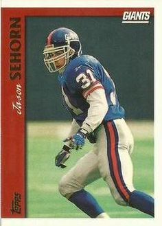 1997 Topps #24 Jason Sehorn Front