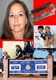 """MONSTER mom SUSAN SMITH was found in a pool of blood after slashing her wrists with a razor behind prison walls nearly killing herself in a bizarre """"cutting"""" ritual. Horrible People, Evil People, Crimes And Misdemeanors, Facts About People, National Enquirer, Crime Scenes, Investigation Discovery, Susan Smith, Major Crimes"""