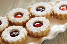 Jam and Hazelnut Cookies from Smucker's® are a delicious recipe to add to your Christmas cookie baking list this year! Jam Cookies, Cut Out Cookies, Cookies Et Biscuits, Shortbread Cookies, Crisco Recipes, Cookie Recipes, Dessert Recipes, Desserts, Hazelnut Cookies