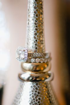 Engagement Ring - See the wedding on Style Me Pretty--  http://www.StyleMePretty.com/california-weddings/2014/03/06/classic-beverly-wilshire-hotel-wedding/ Hazelnut Photography