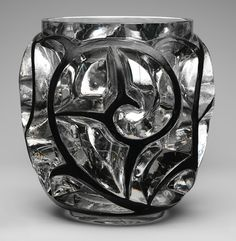 Tourbillons (Whirlwinds) vase, ca. 1925  René-Jules Lalique (French, 1860–1945)  Glass