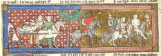 Lancelot du Lac, MS M.805 fol. 125v - Images from Medieval and Renaissance Manuscripts - The Morgan Library & Museum