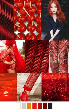 RED HOT pattern curator, scarlet red that is going to be popular in inspiration gathered from nature Trends 2015 2016, 2016 Fashion Trends, Fashion Colours, Colorful Fashion, Stil Inspiration, Fashion Forecasting, Moda Fashion, Fashion Fashion, Runway Fashion