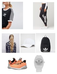 """""""Untitled #270"""" by penguin-pope on Polyvore featuring beauty and adidas"""