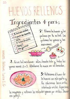 Huevos rellenos by Luisa S. Spanish Tapas, Spanish Food, Love Eat, I Love Food, Comida Diy, Motivation Wall, Cycling Motivation, Fitness Motivation, Nutrition Guide