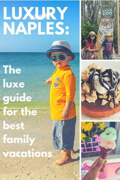 The best zoos, museums, parks, beaches, donuts, restaurants, and hotel in Naples Florida for a family vacation