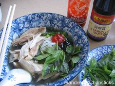 Wandering Chopsticks: Vietnamese Food, Recipes, and More: Pho Ga (Vietnamese Chicken Noodle Soup)