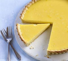 Tangy lemon tart