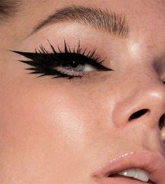 Emo Makeup, Grunge Makeup, Gothic Makeup, Eye Makeup Art, No Eyeliner Makeup, Girls Makeup, Makeup Inspo, Makeup Inspiration, Face Makeup