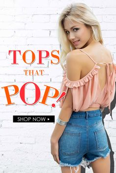 Lookbook Store tops collection that pop!