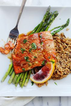 Orange-Glazed Salmon | 23 Valentine's Day Recipes That Will Make You Want To Break Up With Dessert