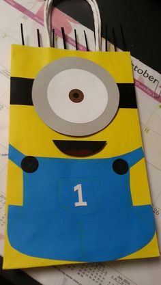 Despicable Me  Minion  handmade bags by Craftsbyflores on Etsy, $25.00
