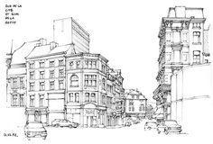 Liège, rue de la Cité by gerard michel, via Flickr