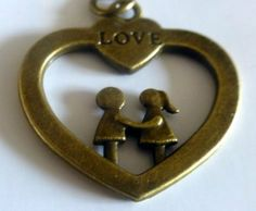 """Cute Couple Standing on A Heart Bronze Tone Engraved """"Love"""" Metal Key Ring By KeyParcels Gift Wedding favours by KeyParcels, http://www.amazon.co.uk/dp/B00J07GFMG/ref=cm_sw_r_pi_dp_MZzGtb0EEEX68"""