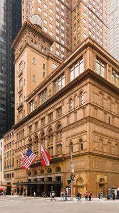 Carnegie Hall , NYC