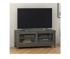 """TV Stand Cabinet Console Furniture Entertainment Media Center DVD Storage 55""""  #MS #Contemporary"""