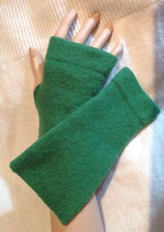 A94 St. Patrick Green merino wool felt by mcleodhandcraftgifts