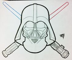 Derek Tattoo Star Wars Darth Vader