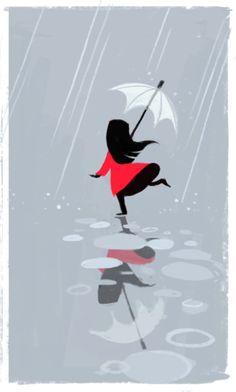 eu e a chuva