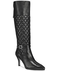 Adrienne Vittadini Jabine Pointed Toe Dress Boots - Boots - Shoes - Macy's