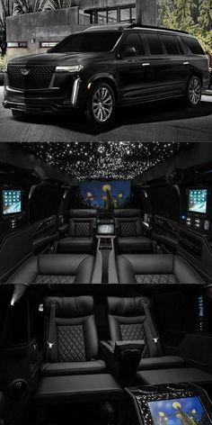 Luxury Sports Cars, Top Luxury Cars, Luxury Van, Luxury Life, My Dream Car, Dream Cars, Lux Cars, Fancy Cars, Cadillac Escalade