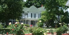 Dr. Flippins Bed & Breakfast in downtown Pilot Mountain has a simple but elegant atmosphere.