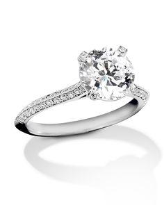 Platinum and Diamond - Turgeon Raine Or Rose, Rose Gold, Platinum Diamond Rings, Gia Certified Diamonds, Shank, Ring Designs, Diamond Engagement Rings, Wedding Bands, Larger