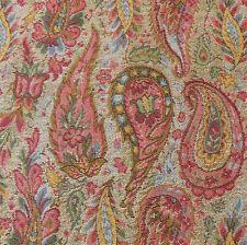 ~ Lee Jofa - Kashmir Bengali, cotton tapestry woven paisley