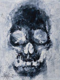 Edges #skull #printsforsale #finishedart http://www.nickchaboya.com/store/ @NickChaboya  Thanks for looking