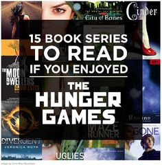 DCG Middle School Library: Like The Hunger Games? Try These Series, Too!