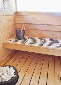Ready for a sauna-break Electric Sauna Heater, Sweat Lodge, Steam Sauna, Sauna Room, Lassi, Western Red Cedar, Extra Seating, Garden Furniture, Benches