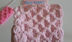 Kadife Bebek Battaniyesi Yapımı Crochet Bebe, Merino Wool Blanket, Free Pattern, Baby Swaddle, Summer Knitting, Crochet For Baby, Velvet, Models, Tricot