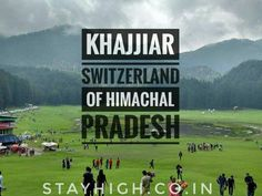 Wanna visit Switzerland?? But your pocket isn't allowing it? Don't worry we have plans that are cheaper than Switzerland but more than that ;-) come to India's Switzerland Khajjiar(Himachal Pradesh) with us and feel it in real way. Lets uncover the Serenity together. Get high with us. Visit www.stayhigh.co.in Visit Switzerland, Stay High, Don't Worry, No Worries, Serenity, Let It Be, Pocket, How To Plan, Feelings