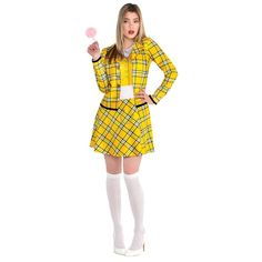 Cher Clueless Halloween Costume, Cher Clueless Outfit, Cher Costume, Group Halloween Costumes, Costumes For Teens, Cute Costumes, Halloween Outfits, Girl Costumes, Gingham