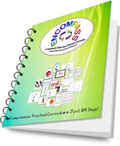 Encompass is a 4-day per week (26-week) homeschool preschool curriculum created to include morning board activities, group activities, and workbox activities. Together these three activity types guide a preschooler through the basic developmental and educational skills expected of a 3 or 4 year old including by not limited to fine and gross motor skills, music, art, math, Bible, recitation, literacy, and cooking skills.