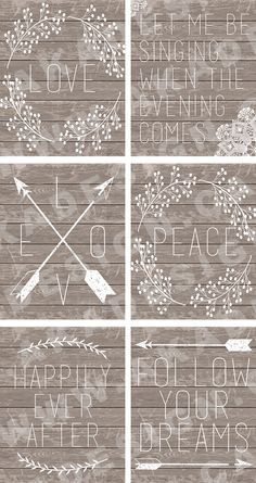 I love these printables - perfect for my new office space :-D