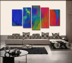 100% Hand Painted Modern Oil Painting on Canvas Wall Art Home Decoration 5 Piece Canvas Art Unframe and Unstretch J-D-ARTS http://www.amazon.com/dp/B00JSGH0C8/ref=cm_sw_r_pi_dp_zGkJtb00XQZYP316
