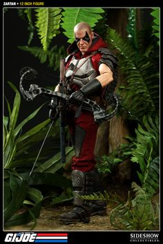 Sideshow Collectibles - Zartan Sixth Scale Figure