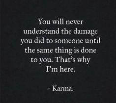 Karma is the best way to revenge More memes, funny videos and pics on Citations Karma, Karma Frases, Karma Quotes Truths, Reality Quotes, True Quotes, Words Quotes, Funny Karma Quotes, Quotes About Karma, Payback Quotes