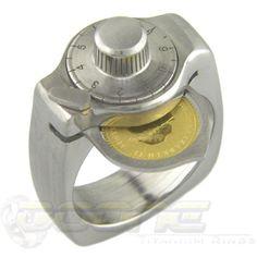 Safe Ring in Titanium