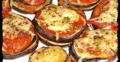 Ingredientes: 1 berenjena grande 1 tomate natural grande cortado en rodajas queso de cabra salsa de tomate casera queso rallado aceite de o...