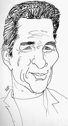 CARICATURAS DELBOY: RICHARD GERE