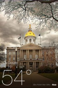 Getting started with the Yahoo Weather app
